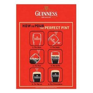 Guinness Metal Bar Sign